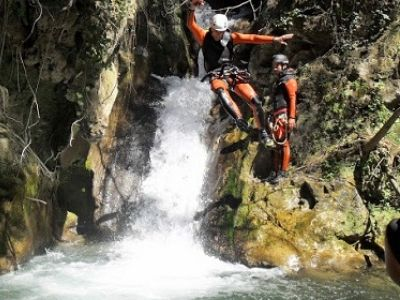 Canyoning à Barbate